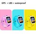 Relógios Inteligentes inteligentes Pedômetro SIM Localização GPS Do Telefone Chat Zona de Segurança para Crianças bebê criança pulseira Smartwatch
