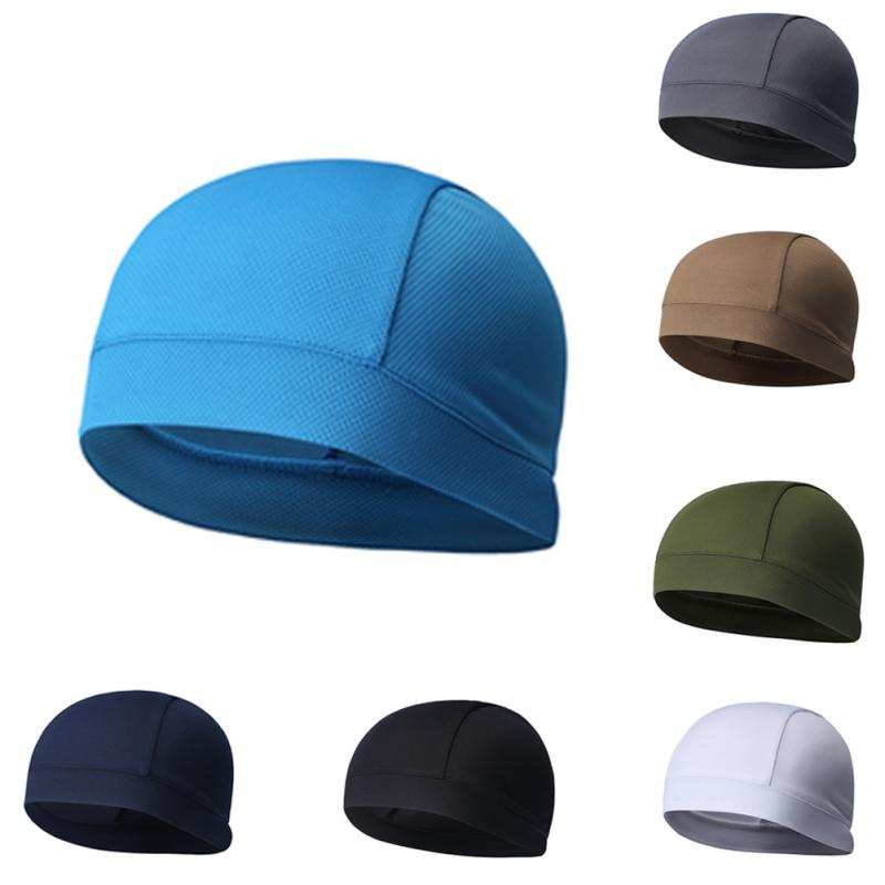 2019 New Unisex Breathable Hat Covers Durable Skullies Beanies Cap Outdoor Solid Riding Running Solid Color Women Men Hats #1016
