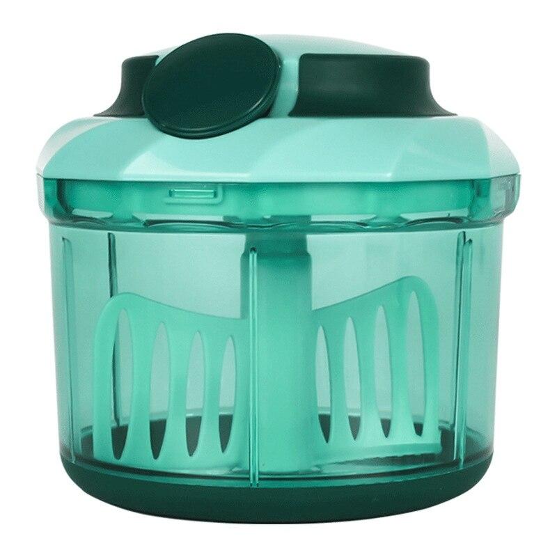 Manual Meat Grinder Hand Power Food Chopper Mincer Mixer Blender To Chop Meat Fruit Vegetable Nuts Shredders