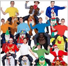 Passeio em Urso Traje Oktoberfest Halloween Cosplay 17 Estilos Animal Engraçado Vestir Calças de Fantasia Novidade Traje Da Mascote