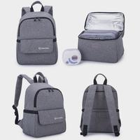 Breast Milk Stoage for Baby Food Multifunction Insulated Cooler Bag Fresh keeping Waterproof Larger Diaper Bags