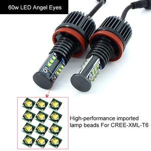 Image 5 - 2x Canbus LED Angel Eyes light 10w 20w 30w 60w H8 LED HID Bulb For BMW E60 E61 E63 E64 E70 X5 E71 X6 E82 E87 E89 Z4 E90 E91 E92