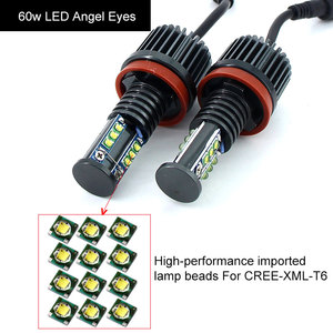 Image 5 - 2x canバスのledライト10ワット20ワット30ワット60ワットH8 led hid電球bmw e60 E61 E63 E64 E70 X5 E71 X6 E82 E87 E89 Z4 E90 E91 E92