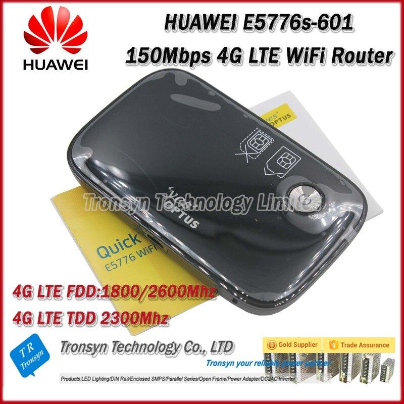 Déverrouillage d'origine en gros LTE FDD TDD 150 Mbps HUAWEI sans fil 4G routeur et HUAWEI E5776 4G routeur, 4G laisser Hotspot Mobile