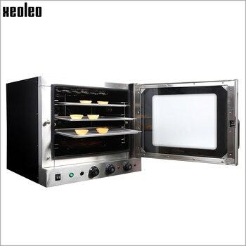 XEOLEO Piec Konwekcyjny Maszyna Do Pieczenia Chleba Handlowy Piec Chlebowy Piekarnik Elektryczny Do Pieczenia Piekarnia Sprzęt Spray Funkcja 4500W