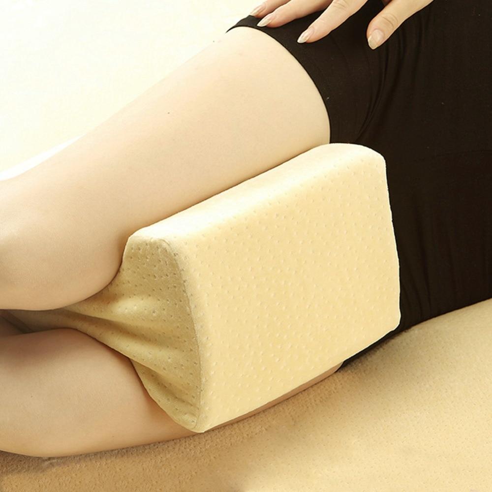 Orthopedic Knee Pillow Spine Sciatica Relief Memory Foam