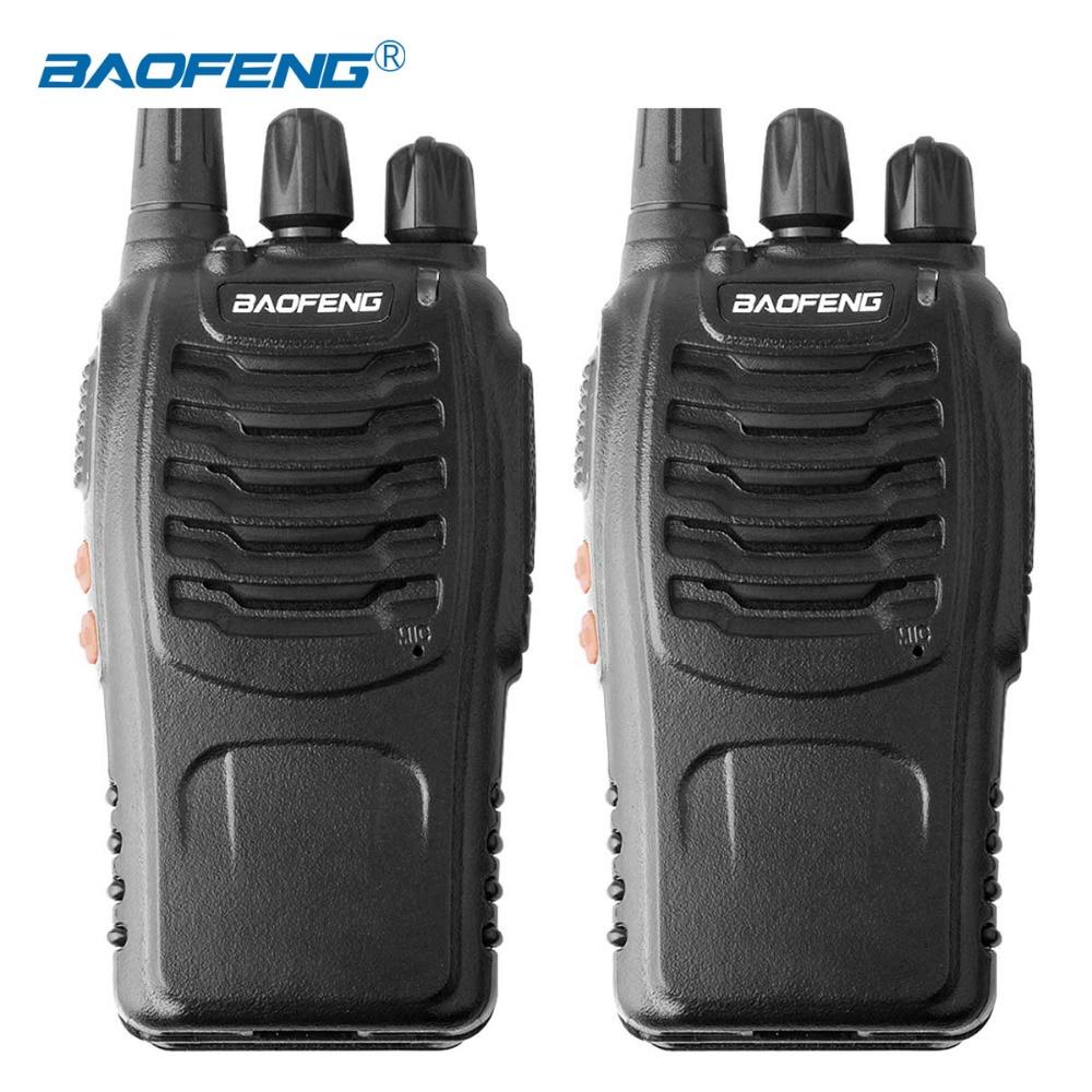 2PCS Baofeng BF-888S Walkie Talkie 16CH Radio Station UHF400-470MHZ Portable Ham 1