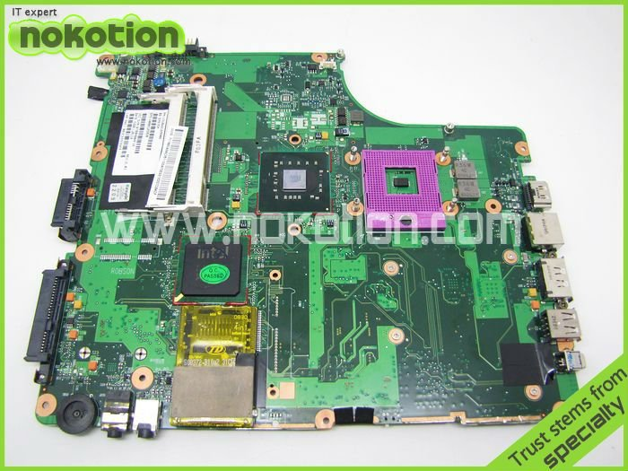 NOKOTION V000125820 1310A2169906 REV 2.01 For Toshiba Satellite A300 A305 Laptop motherboard GM45 DDR2 Socket 478 Mainboard nokotion nbwaa la 5821p rev 0 1 k000085450 laptop motherboard for toshiba satellite l455 mainboard intel gl40 ddr2