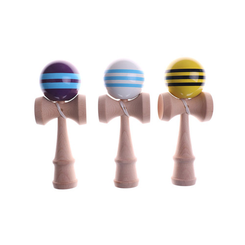 Kids Wooden Kendama Coordinate Ball Japanese Traditional Skillful Juggling Wood Game Balls Bilboquet Skill Educational Toys Gift