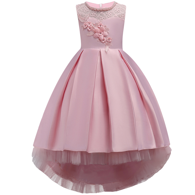 Girls Dress Flower Pageant Wedding Kids Clothing 2018 Summer Princess Party Dresses Clothes party formal dress of Girl 3-14 year kseniya kids 2017 girls summer clothes dresses toddler baby girl clothing princess dress flower party dress for girls 2 14 year