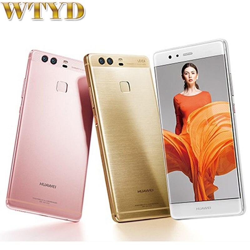 For Huawei P9 EVA-AL00 32GB/3GB LTE 4G Fingerprint Identification 5.2'' EMUI 4.1 Kirin 955 Octa Core 4 x Cortex A72 2.5GHz