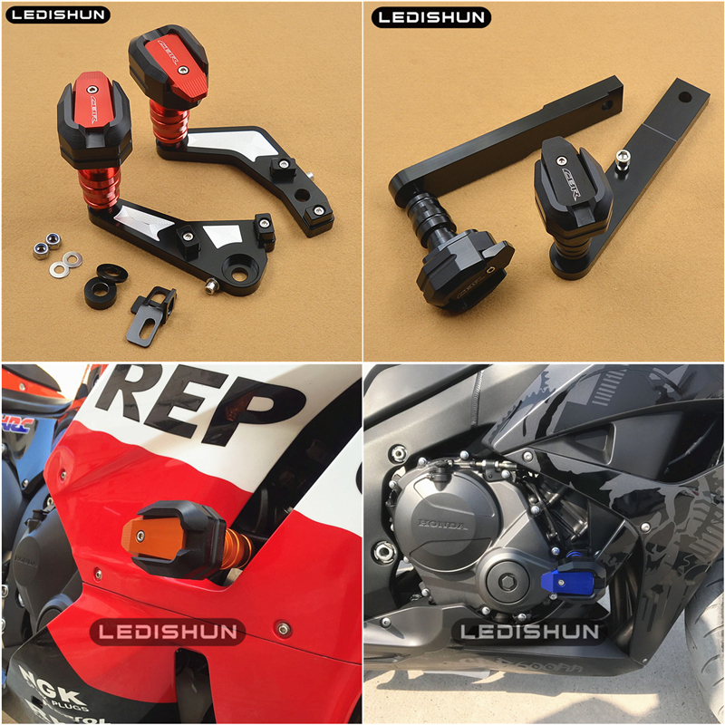 slider frame sliders Engine Protective Guard cover Falling Protection For Honda CBR600RR CBR 600 RR 0708