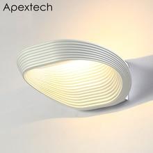 Apextech Creative Wall Lamp Novelty LED Night Light Bedroom Living Room Corridor Decor Lights Modern Nordic Style