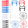 4 sets Syma X5 X5cQuadcopter Propellers Landing Skid Protectors Spars High Quality