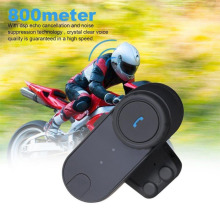 800 M Intercom Headset Intercomunicador Inalámbrico Bluetooth Headset Casco de la Moto