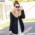 De alta calidad de algodón de moda de invierno señoras abrigo profesional cómodo capa de las mujeres