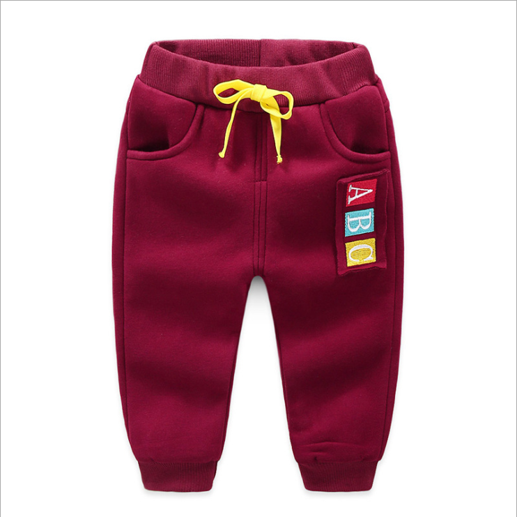 JGVIKOTO Kids Sports activities Pants Winter Child Boys Woman Heat Plus Thick Velvet Pants Chlidren Leggings Winter Colourful Pant HTB1YFk2ePQnBKNjSZSgq6xHGXXaW