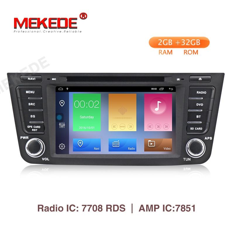Lecteur dvd de voiture MEKEDE Android 9.1 2 + 32G pour Geely GX7 EX7 Emgrand GX7 X7 voiture GPS navigation Radio enregistreur stéréo BT carte WIFI
