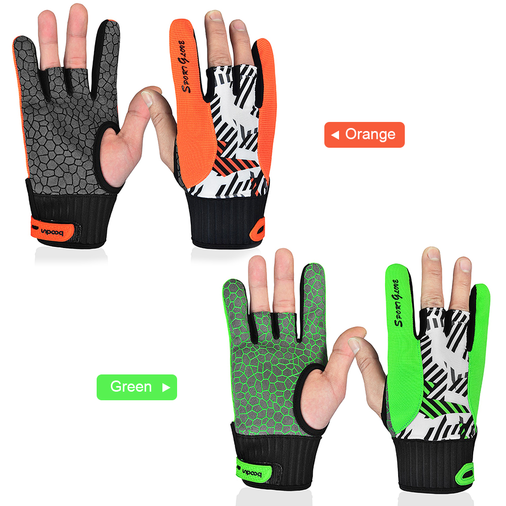 Professional Bowling Gloves Breathable Gym Gloves  4