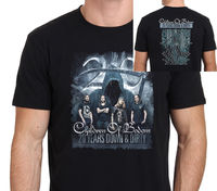 Fashion T Shirts Summer Straight 100 Cotton Short Men Children Of Bodom 20 Years Down Dirty