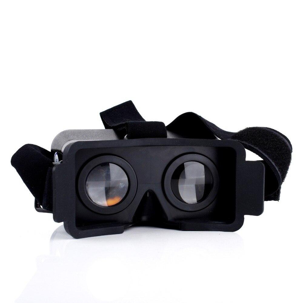 Cardboard Head Mount Plastic <font><b>Virtual</b></font> <font><b>Reality</b></font> 3D <font><b>Video</b></font> <font><b>Glasses</b></font> <font><b>for</b></font> <font><b>Android</b></font> <font><b>iOS</b></font> 4.3-6.3inch Smart Phones
