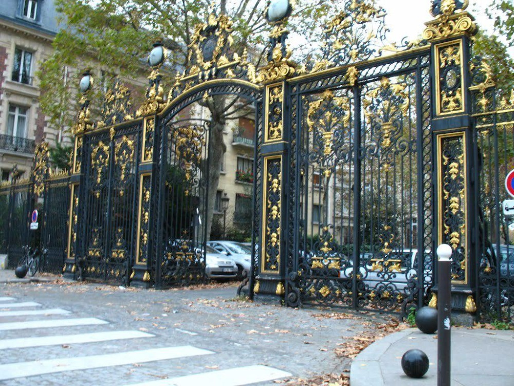 Black Wrought Iron Gates Security Gates Vinyl Fence Gate