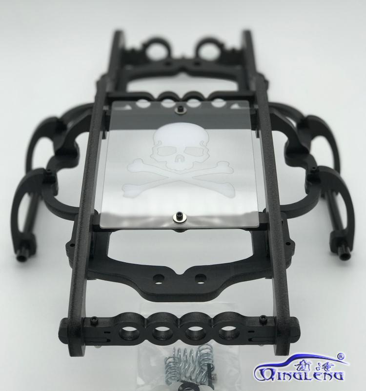 ทั้งหมดพลาสติกม้วนกรง/ปกป้อง roll cage (นำเข้าวัสดุ) qingleng roll cage สำหรับ HPI 1/8 SAVAGE XL FLUX-ใน ชิ้นส่วนและอุปกรณ์เสริม จาก ของเล่นและงานอดิเรก บน   3