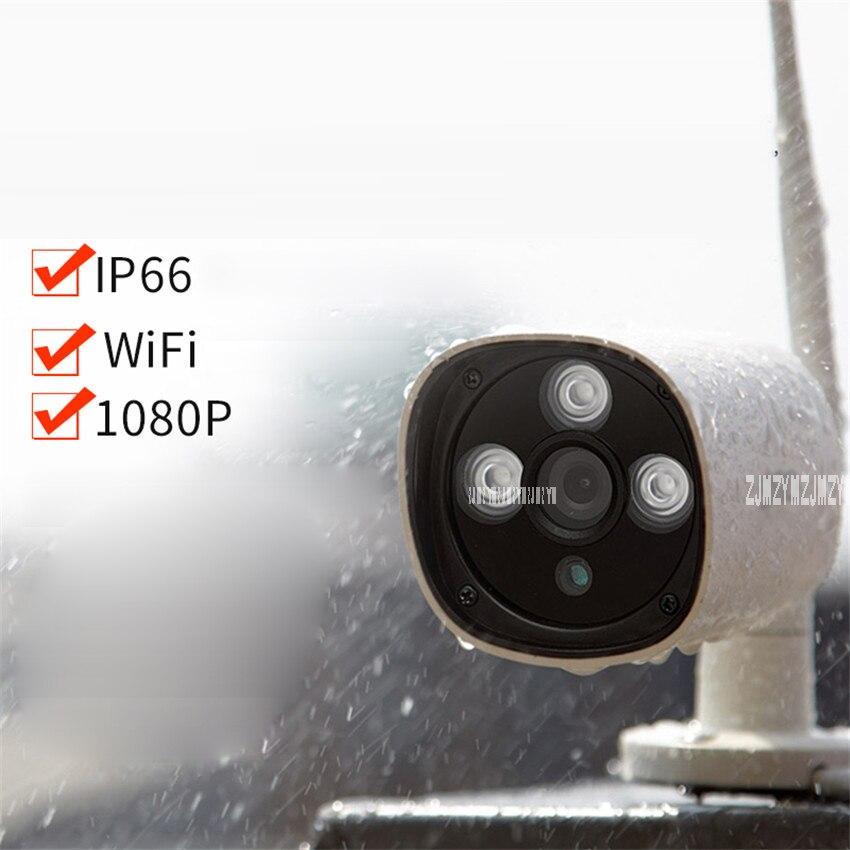 360 IP Webcams extérieur 1080 p HD Infrarouge Vision Nocturne Améliorée Professionnel Étanche À La Poussière À Distance WiFi Surveillance Webcam