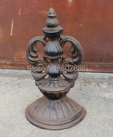 Country Rustic Rural Cast Iron Door Stop Wedge Stopper Doorstopper Metal Decorative Doorstop Crafts