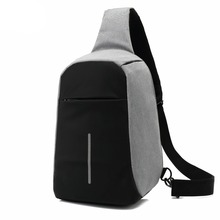 OZUKO Anti theft Crossbody Bags for Men Messenger Chest Bag Pack Casual Bag Waterproof Canvas Single Shoulder Strap Pack sinpaid anti theft messenger bag crossbody casual designer shoulder bag anti theft zipper and buckle color black blue