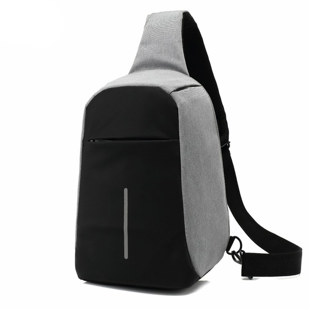 8d5e741e9f OZUKO Anti theft Crossbody Bags for Men Messenger Chest Bag Pack Casual Bag  Waterproof Canvas Single Shoulder Strap Pack
