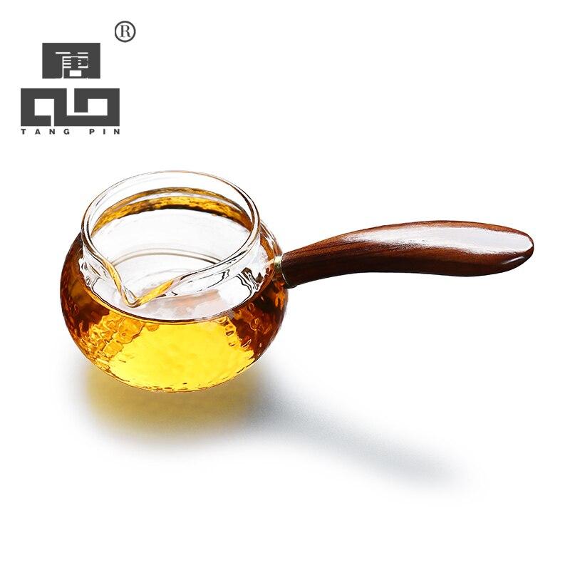 TANGPIN Japanese Heat-resistant Glass Tea Infusers Glass Tea Pitcher Chahai Coffee Jug