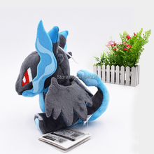 10 PCS/Lot Q Version Mega Charizard X Evolution  Animal Stuffed Plush Quality Toys For Kids Gift 16 cm Christmas