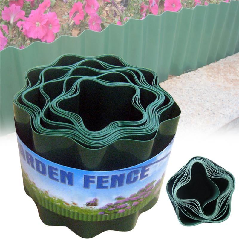 Fence DIY Flexible Easy Installation Garden Decorative Lawn Edging Ripple Shape Courtyard Path Insert Durable Flower Protect