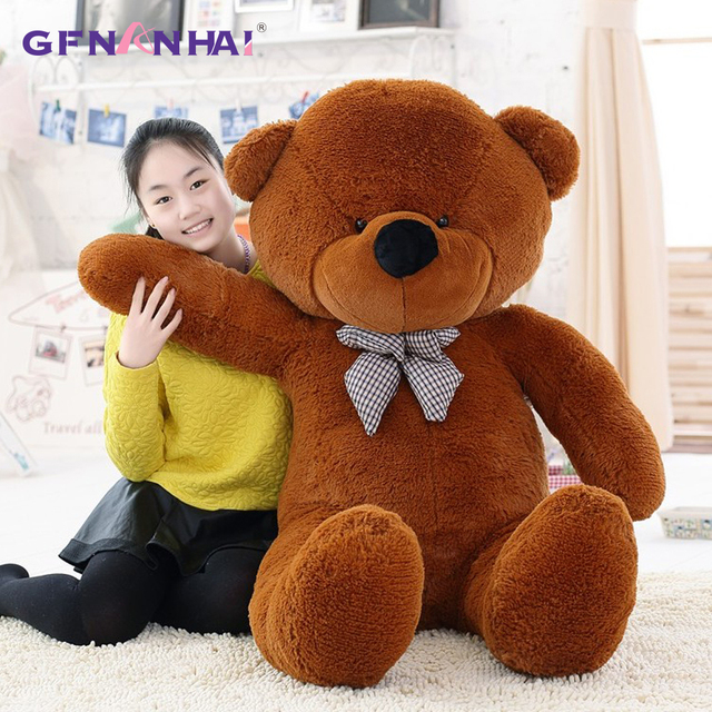 1pc 80/100/120cm Classic Selling Toy Big Size Teddy Bear Skin ,Teddy Bear Coat ,Good Quality Factary Price Soft Toys For Girls Uncategorized Decoration Kid's Toys Stuffed & Plush Toys Toys