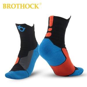 4bfd0804cda1 Brothock Running Sports Socks Sweat Towel KD Of Basketball Socks Thickening  Elite