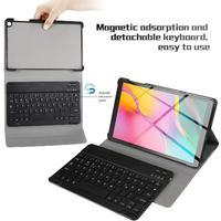 Para samsung galaxy tab um 10.1t51 0/t515 dividir colorido retroiluminado teclado bluetooth caso protetor r20