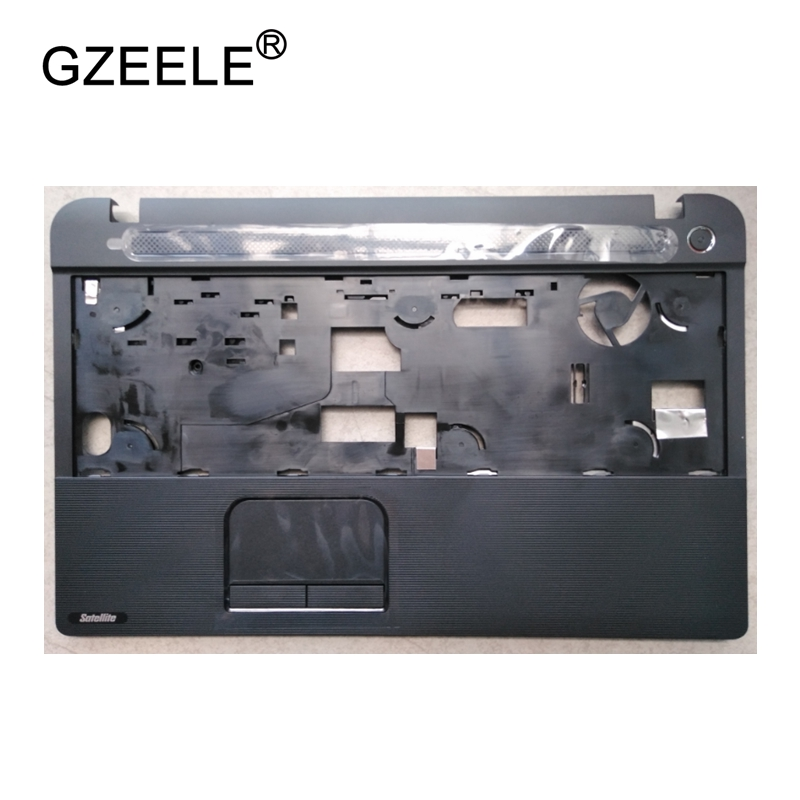 GZEELE Laptop LCD TOP CASE For Toshiba C50 C55 C50D C55D C50T C55T Palmrest Keyboard Bezel Cover Upper Case Assembly W/Touchpad new original for lenovo ideapad u330 u330p us keyboard w bezel palmrest top upper case cover black