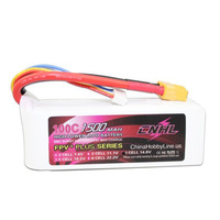CNHL G PLUS 1500mAh 14 8V 4S 100C Lipo Battery Pack For FPV Racer