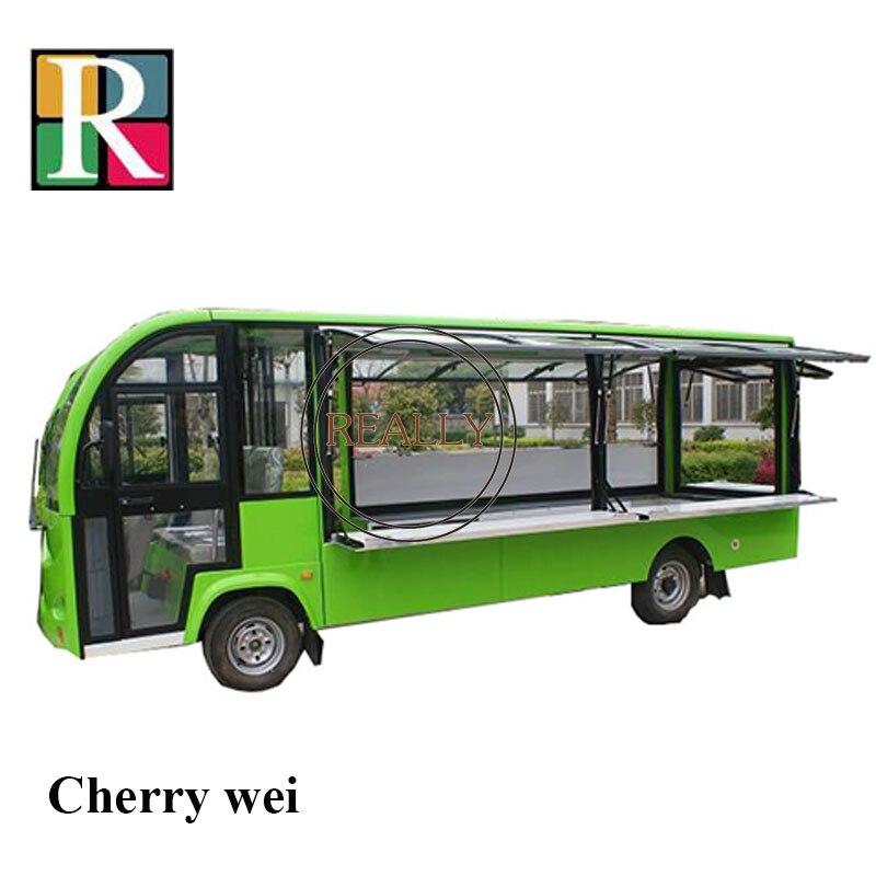 3.5m/4.3 M /5.7electric Cart Ice Cream Truck Mobile Food Truck Carts Food Van Crepe Cart Sale Of Sandwich Kiosk Electric Tuk Tuk