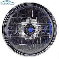 VODOOL Halogenowe 12 V 35 W Okrągły Motocykl Reflektorów Zgromadzenie Dla Honda CB900 Hornet 600 900 CB400 Car Styling