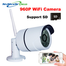 2016 Wifi  Wireless IR Network IP camera 960P HD Outdoor Video surveillance security camera SD Card slot 1.3MP Megapixel