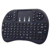 Новая i8 английская версия 2,4 ГГц Беспроводная клавиатура Air mouse Teclado ручной для Android tv BOX PC с беспроводным приемником