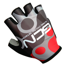 Фотография 2017 Hot Team Mountain Road Cycling Gloves Anti-slip Bike Gloves Anti-shock Half Finger Bicycle Gloves