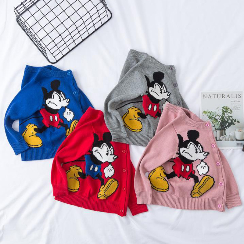 1-6 Jahre Baby Mädchen Jungen Pullover Frühling Herbst Strickjacke Kleinkind Kinder Kinder Outwear Kf956
