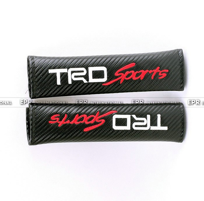 Carbon seat belt cover trd sports_1_1