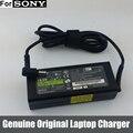 Оригинальные 90 Вт 19.5 В Ноутбук Адаптер ПЕРЕМЕННОГО ТОКА Зарядное Устройство для Sony Vaio VGP-AC19V25 VGP-AC19V26 VGP-AC19V27