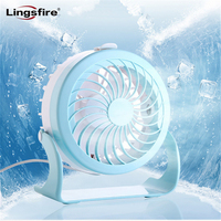 4 Modes Quiet USB Fan Small And Lovely Cooling Mini Desk Fan 180 Rotatable Misting Spray