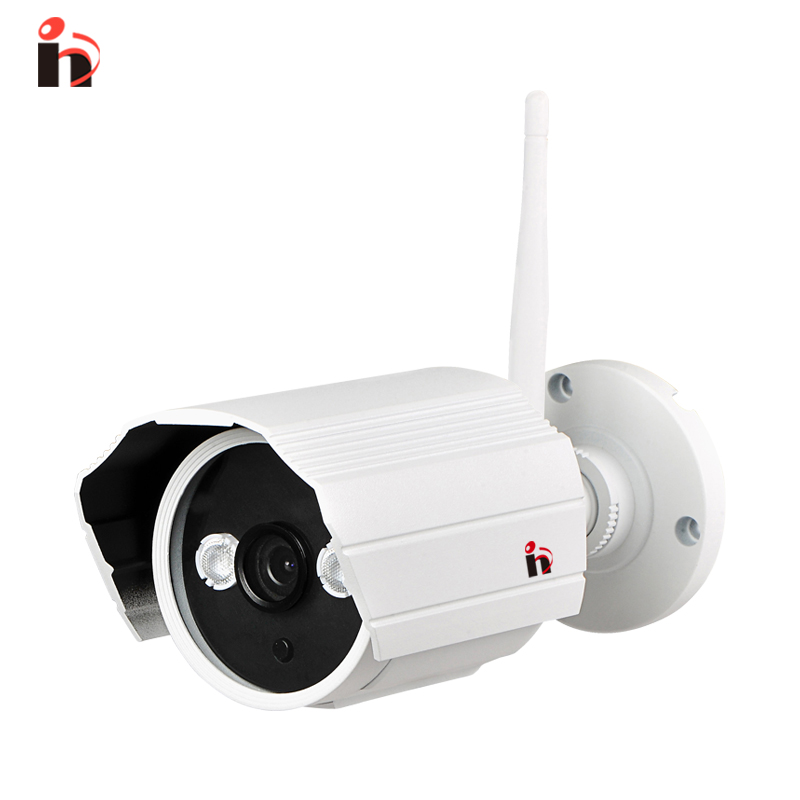 H 628GB HD 720P bullet IP camera outdoor Wifi wireless IPC IR Cut P2P Monitor Onvif2.0  IP cam waterproof bullet camera wifi ipc 720p 1280 720p household camera onvif with allbrand camera free shipping