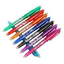 8 шт GENKKY стираемая ручка 8 цветов чернил гелевая ручка стилей Радужный креативный рисунок канцелярские ручки для школы